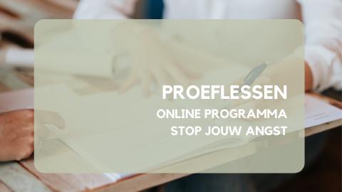 Beschermd: gratis proeflessen – online programma Stop jouw angst